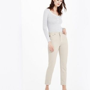 AG The Phoebe high-waisted tapered leg